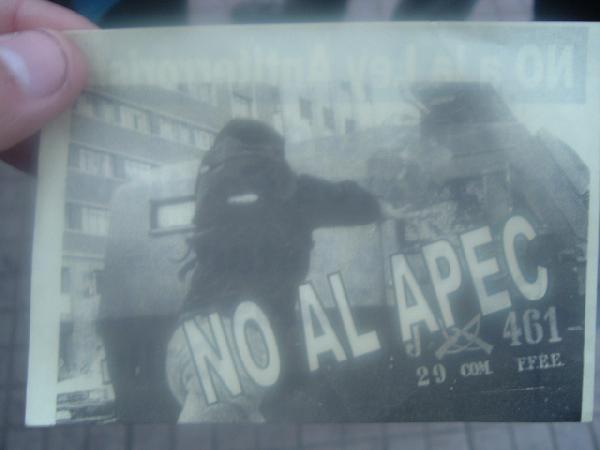 fuego al APEC...
