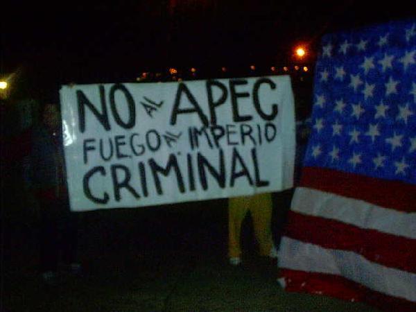 No a APEC...