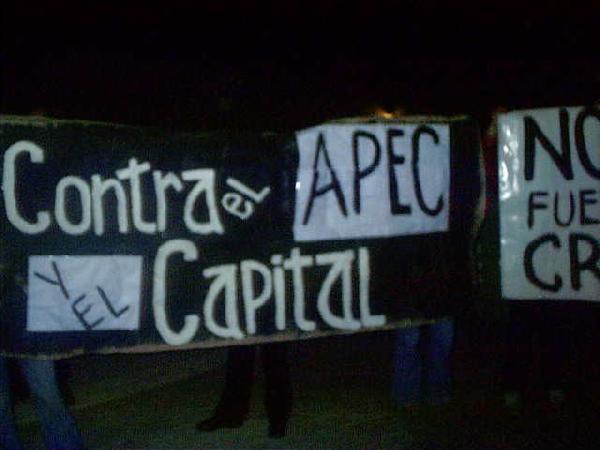 Contra APEC y el cap...