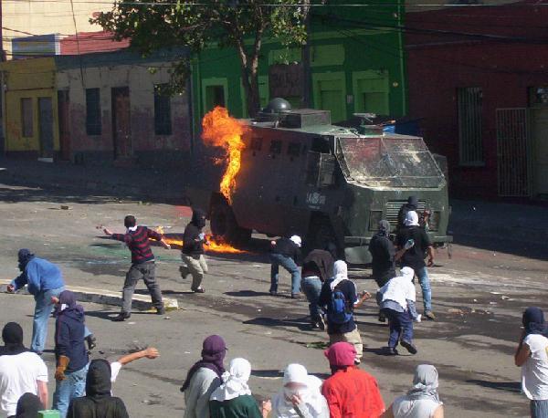 Molotovs...