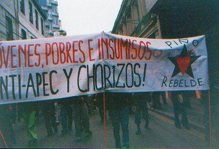 ANTI APEC Y CHORIZOS...
