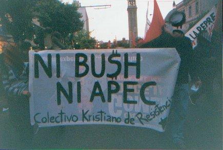 NI BUSH,NI APEC....