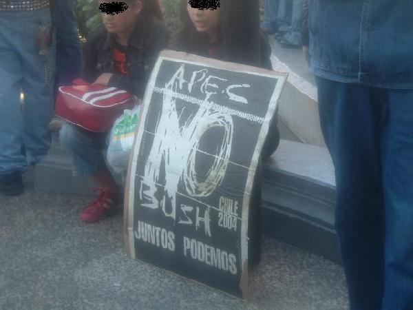 no bush- no APEC...