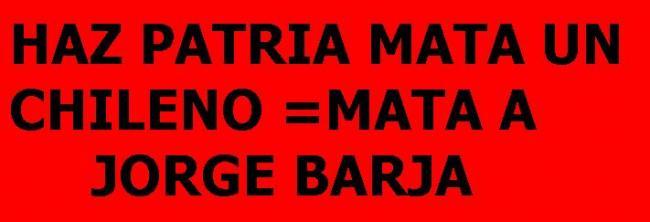HAZ PATRIA MATA A UN...
