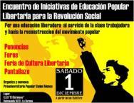 ENCUENTRO DE EDUCACION LIBERTARIA  CENTRO SOCIAL OKUPADO EL CHIRIMOYO
