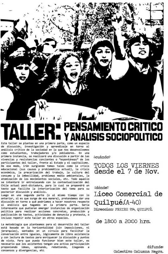 TALLERES DE PENSAMIE...