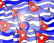 Una Carta del Mundo para los 5 Héroes Cubanos