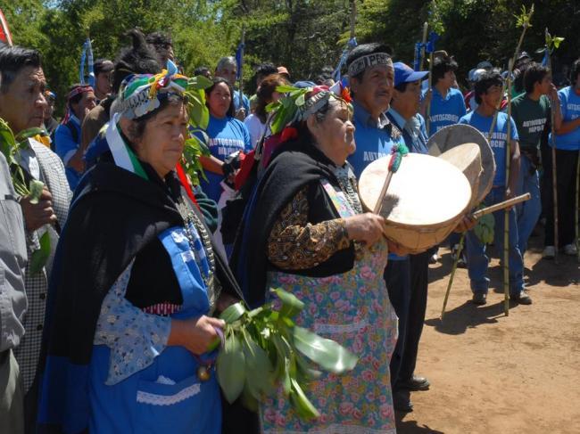 Mujeres Mapuche Denu...