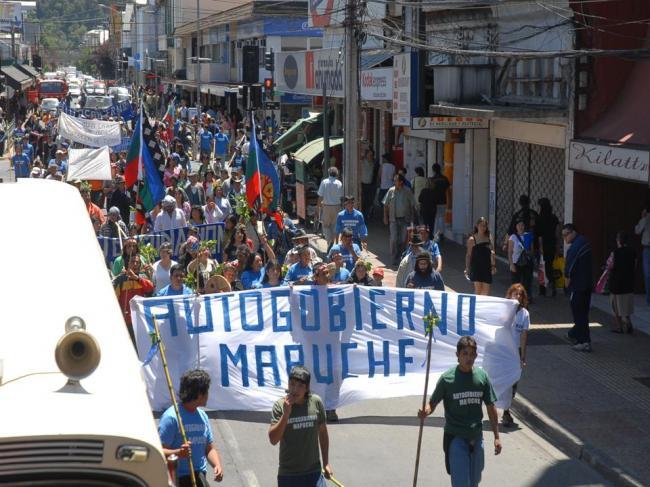 Manifestación pacifi...