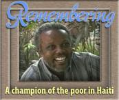 Remembering a champion of the poor in Haiti